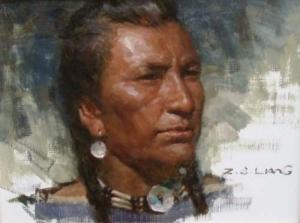 Z S Liang Astoria Fine Art Gallery In Jackson Hole